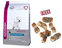 . Eukanuba West Highland White Terrier Adult Economy Pack 2 x 2.5kg is a complete, balanced dry dog food, developed specially for West Highland terriers. It helps to support healthy skin, controls weight and promotes overall health. Contains essentia...