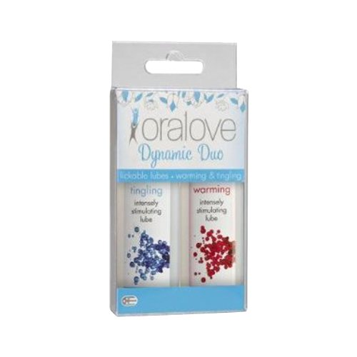 Oralove Lube Warming and Tingling, 2 Count