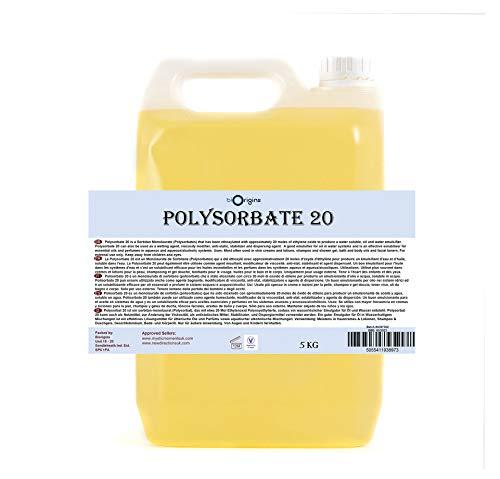 Polysorbate 20 (Solubilser) - 5Kg