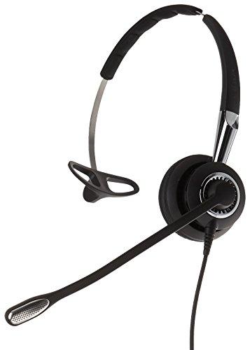 Jabra 2400 II QD Mono NC 3-in-1 Wideband Wired Headset - Black