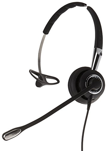 Jabra 2400 II QD Mono NC 3-in-1 Wideband Wired Headset - Black