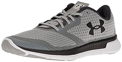 Under Armour Women's Charged Lightning Running Shoe, Gray Wolf (031)/White, 6.5 from Under Armour