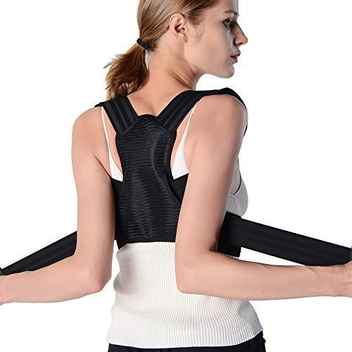 ZWMM Schulter RüCken Geradehalter Zur Haltungskorrektur Damen Ergonomische Bequemes Gewebe Einstellbar Für Rückenschmerzen Und Taille Druck Unisex