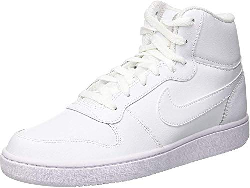 Nike Herren Ebernon Mid Sneakers, Weiß White 001, 43 EU