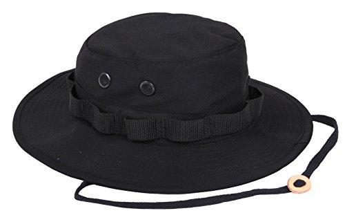 Uf Boonie Hat Black - Size 6 3/4