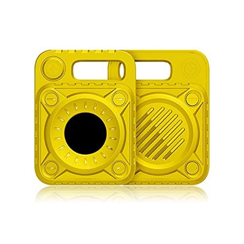 Schutzhülle TPU Kompatibel mit Airtag Anti-Scratches Pet Loop Holder Cover GPS Tracking Hund Katze Wearable Zubehör TPU Silikon Case Anti-Lost Schutzhülle Slide On Clip Sleeve Protector für
