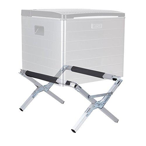 Camp4 🏕️ Aluminium Kühlboxständer | Schaumstoffpolster | höhenverstellbar | 40Kg 🏕️