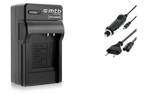 Ladegerät (Netz/KFZ) kompatibel mit Panasonic S008/BCE10E, Lumix DMC-FS3 FS5 FS20 FX30. s. Liste