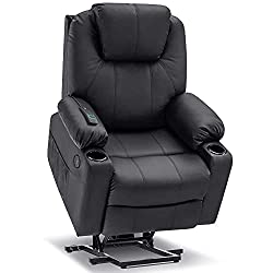 recliner with power lift for back problems