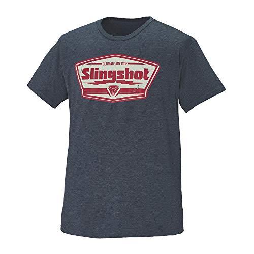 Polaris Slingshot Men's Short-Sleeve Badge T-Shirt, Navy - L