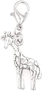 It's All About...You! Giraffe Clip on Charm Perfect for Necklaces and Bracelets 102Ah