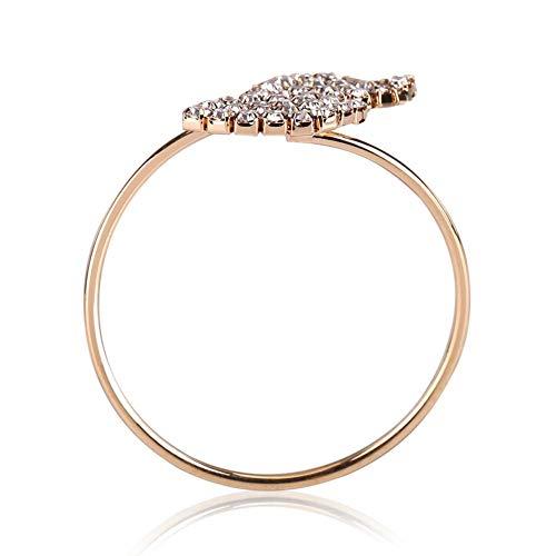 12 Stück Serviettenring Set Strass Serviettenhalter Ringe Gold Handgemachte Schnalle Halter Tischdekoration für Hochzeitsessen