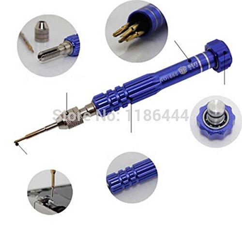 5 in 1 Pentalobe Schroevendraaier Set Tool Voor iPhone 5/5S/5C 4/4S Samsung Nokia 0.8 Precision S2 Schroevendraaier Bit Multi q8k