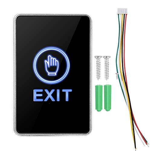 Interruptor de control de acceso duradero no es fácil de dañar Botón de interruptor de apertura de puerta de tablero de acrílico, fábricas para instituciones comerciales