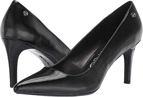 Calvin Klein Nilly Black Patent Smooth 7.5 M