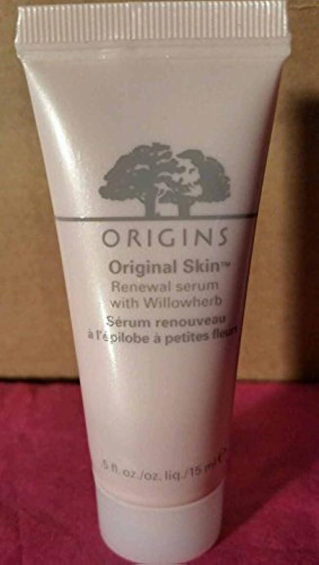 Origins Original Skin Renewal Serum with Willowherb, 0.5 oz./15 ml