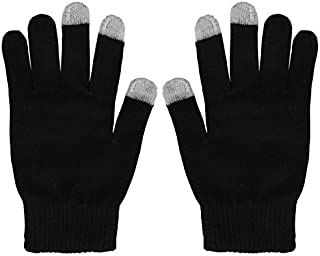 Fashion Angel Women's Winter Stretch Cashmere Gloves for Women Solid Color Warm Knitted Thick Warm Gloves