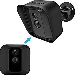 Quantity: you will receive a package of 1 black camera cover and 1 black mount bracket for your Blink XT Camera in bags for delivery Rotatable adjustment: support 360° rotating adjustment, can be adjusted to whatever angle you like, ensure your house...