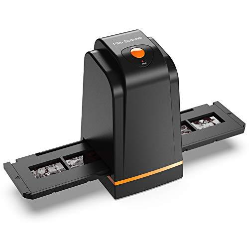 135 Film Slide Scanner Converts Negative,Slide&Film to Digital Photo,Supports MAC/Windows XP/Vista/ 7/8/10
