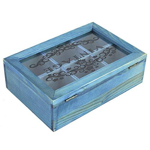 SALUTUYA Caja de Almacenamiento de Madera para Evitar rayar Las Joyas