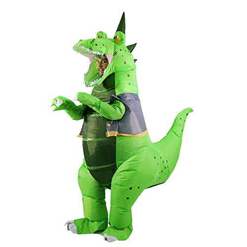 HORYEE Inflatable Dinosaur Costume Adult Men Women Inflatable T-Rex costume