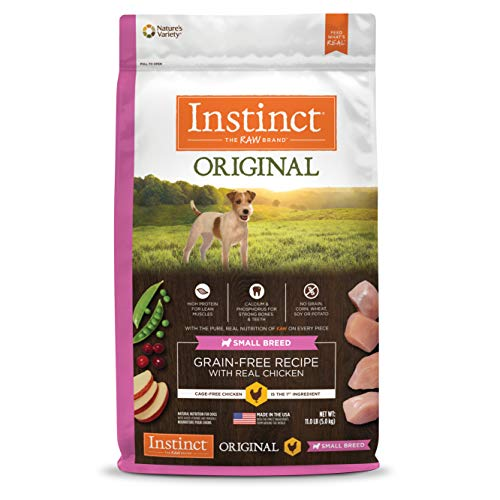 Instinct Original Small Breed Grain Free Recipe with Real Chicken Natural Dry Dog Food by Nature's Variety, 11 lb. Bag