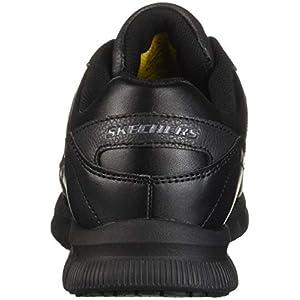 Skechers for Work Men's Nampa Food Service Shoe,black polyurethane,12 M US