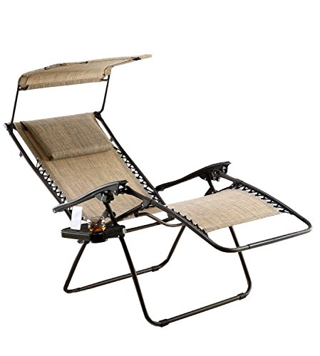 Just Relax Oversized Zero Gravity Chair with...
