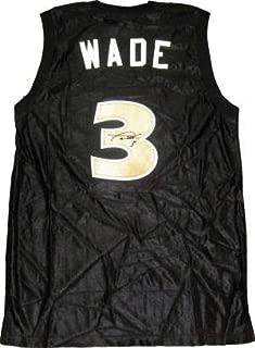 Signed Dwyane Wade Jersey - Richards High School Black - Autographed NBA Jerseys
