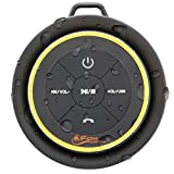 iFox iF012 Bluetooth Shower Speaker - Certified Waterproof - Wireless It Pairs Easily to All Your Bluetooth Devices -...