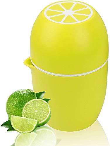 Exprimidor Manual de Limón,Exprimidor Zumo Manual,Exprimidor de Mano Portátil para Naranja Limón Lima y Cítricos Pomelo