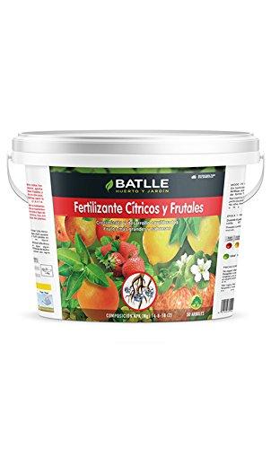 Semillas Batlle 710661UNID Engrais pour Agrumes et Arbres fruitiers, 5 kg
