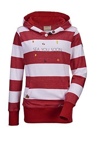 G.I.G.A. DX Sudadera con capucha para mujer Belo WMN Sweat SHRT B Stripe, Color: Rojo, Talla: 46