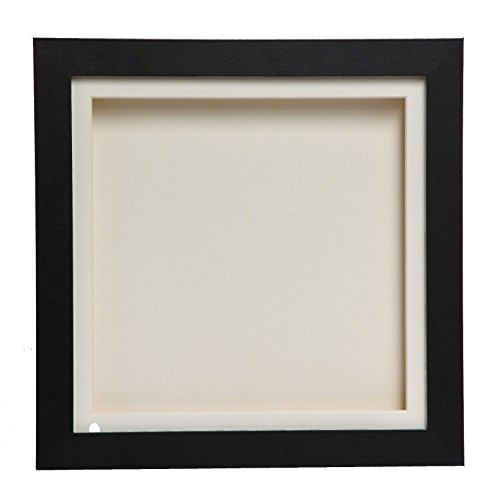 Cube Black 3D Deep Box Picture Frame Display Memory Box For Medals Memorabilia Flowers(A4)