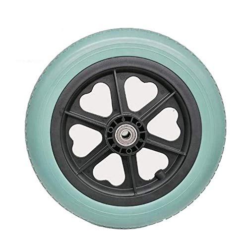 CHHD Neumáticos de Scooter eléctrico, 12 Pulgadas 12 1/2x2 1/4 PU Neumáticos sólidos microporosos, Resistentes al Desgaste, Antideslizantes, sin Mantenimiento, adecuados para cochecit