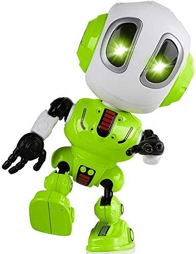 zeyujie Mini Robot Multifuncional Grabación Sensible al Tacto Juguete for niños, Robot Hablando, Juguete Fresco for niños de 3 a 8 años de Edad Regalo de cumpleaños