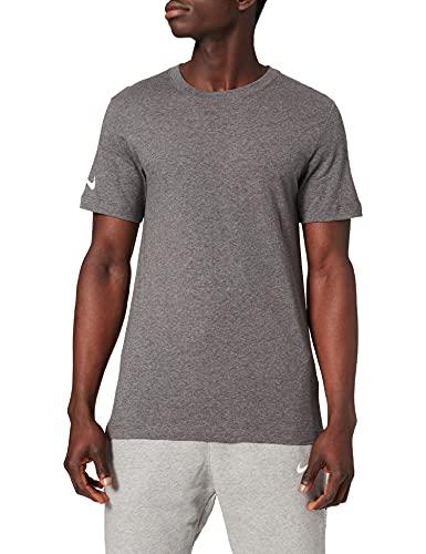 NIKE Camiseta para Hombre Team Club 20 tee, Hombre, Camiseta, CZ0881-071, Color Gris y Blanco, Extra-Large
