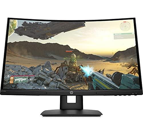 """HP X 24c – Monitor Gaming de 24"""" Full HD (1920 x 1080 a..."""
