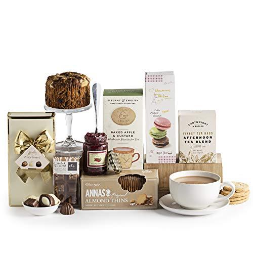 Teatime Delights Hamper, Luxury Food & Afternoon Tea...