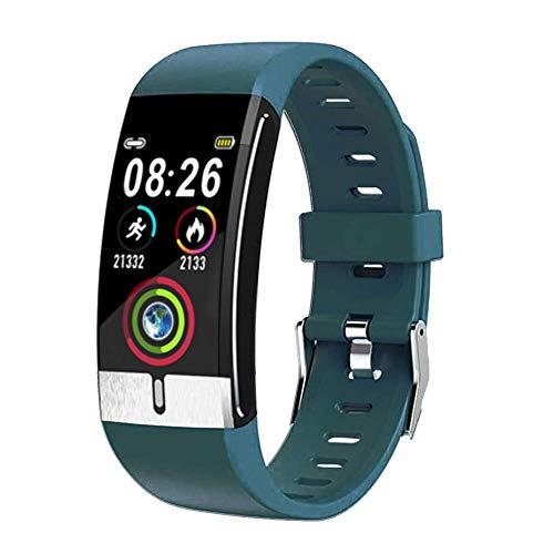 Fitness Tracker, Bluetooth Smart Armband EKG PPG Blutdruck, Herzfrequenz IP67 Wasserdichte Aktivität Health Tracker Armband Schrittzähler mit Schlafmonitor Kalorien Smart Watch