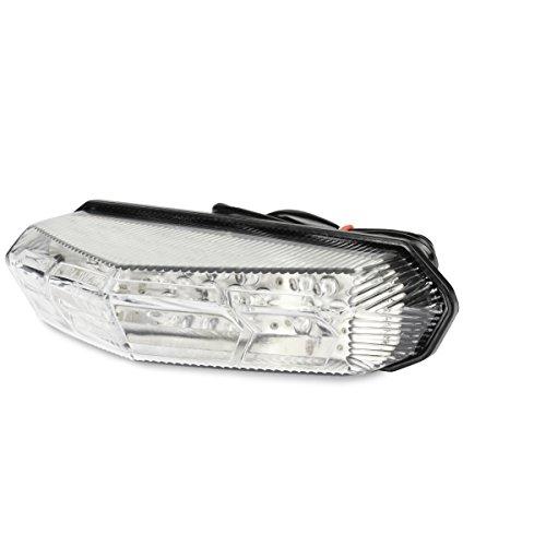 TNTTU achterlicht met knipperlicht, voor Derbi Senda, CE-gecertificeerd, transparant