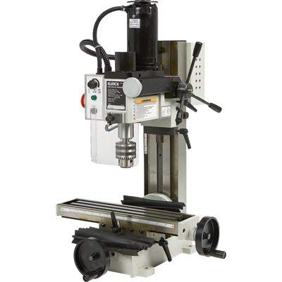 Klutch Mini Milling Machine - 350 Watts, 1/2 HP, 110V