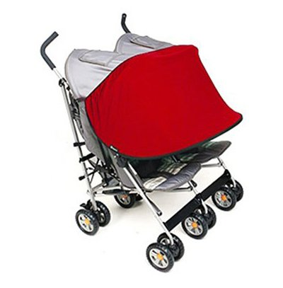 Buy Discount Manito Sun Shade for Twin Stroller (Red)