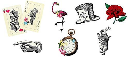 Talking Tables Truly Alice in Wonderland; Requisiten für Geburtstage, Teekränzchen, Hochzeiten und Partys, Verrückte Hutmacher-Party, Bunt