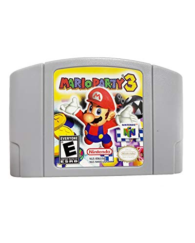 Video Game Cartridge Console Card for Nintendo N64 ,for Mario Party 3 with play and plug