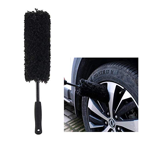Microfibre Wheel Brush, Completely Safe Wheel Cleaning