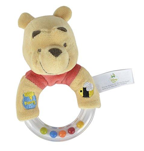 Simba - 6315873657 - Hochet Anneau - Disney Winnie l'ourson avec Peluche