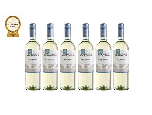MEZZACORONA Pinot Grigio Trentino DOC, 6er pack