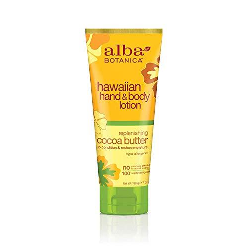 ALBA BOTANICA - Hawaiian Hand & Body Lotion Replenishing Cocoa Butter - 7 oz. (196 g)