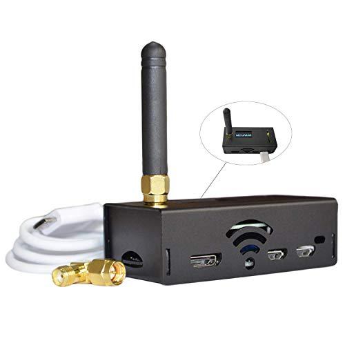 MMDVM Hotspot Raspberry Pi Zero + MMDVM Hotspot Board + 8G TFT Card + Antena + Pantalla OLED Soporte UHF y VHF C4FM YSF NXDN DSTAR P25 DMR Completamente Ensamblado y Probado